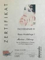 "alessandro: Fachseminar IV ""Basis Modellage I"""