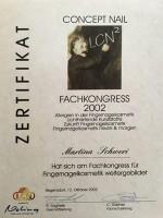 "Zertifikat Fachkongress ""Fingernagelkosmetik"""